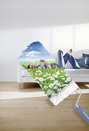 innenputz von knauf bauprodukte f r ein bessres raumklima. Black Bedroom Furniture Sets. Home Design Ideas